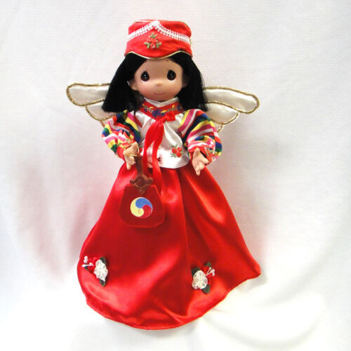 "Precious Moments Korean Angel Tree Topper 12"" Jin Suh from Korea"