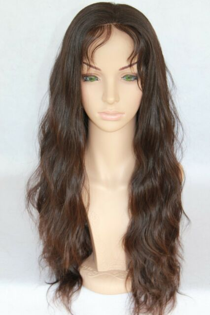 """8"""" - 20"""" light WAVE Lace Front Wig 100% Indian Remy Human Hair loose wavy HOT!!!"""