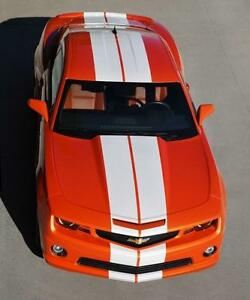10-VINYL-RALLY-STRIPES-RACING-STRIPE-KIT-HOOD-TRUNK-ROOF-For-CHEVY-CAMARO
