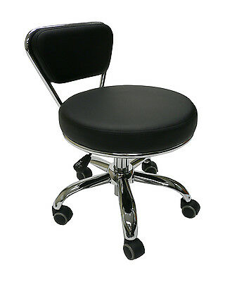 Premium Leather Rolling Stool w/ Backrest (LS103-11)  sc 1 st  eBay & Rolling Stools collection on eBay! islam-shia.org