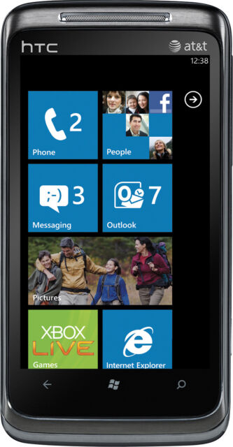 New HTC 7 Surround T8788 Unlocked GSM Phone Windows 7 OS 5MP Camera GPS Wi-Fi