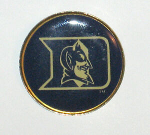 Lapel-Hat-Pin-Duke-Blue-Devils-Round-NEW-ACC