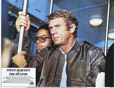 HUNTER - 1980 Orig 11x14 Lobby Card #8 - Awesome image of STEVE MCQUEEN