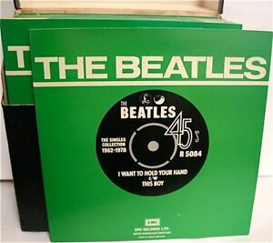Beatles-Singles-Collection-1962-1970-7-034-Vinyl-45RPM-Apple-Records