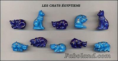"Fèves LES CHATS EGYPTIENS ""Filets Or"" AN774  New 2013!!! FB"