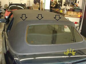 vw golf iii 3 cabrio verdeck reparatur nahtreparatur. Black Bedroom Furniture Sets. Home Design Ideas