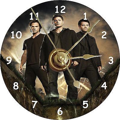 NEW Supernatural Cast/Jared Padalecki CD Clock