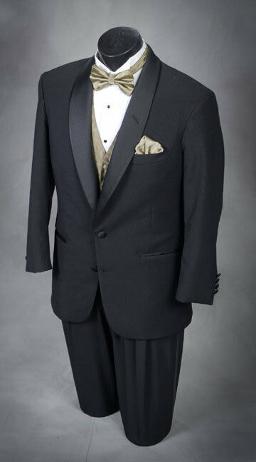 41 s Classic black shawl tuxedo complete This years style tux! Light weight wool