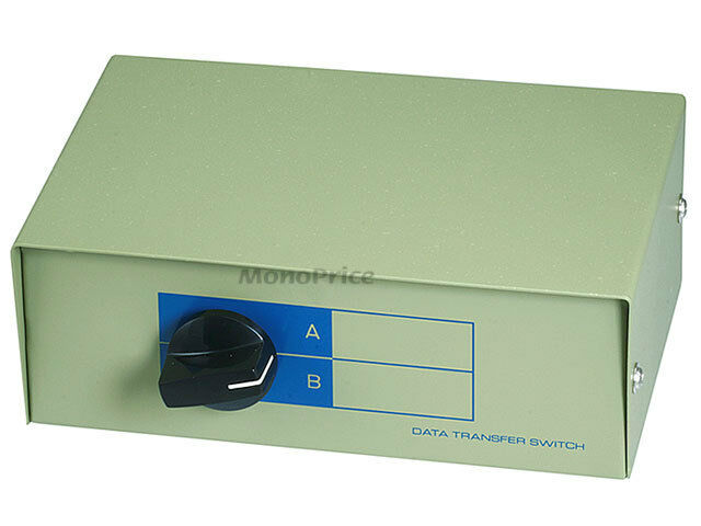 Switch DB15, AB 2 Way Manual Switch Box  1347