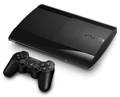 Sony Playstation 3 Super Slim 12 GB Charcoal Black Console (NTSC)