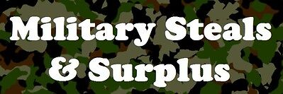 Military Steals and Surplus