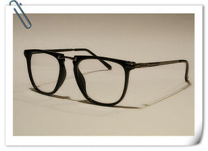 Thin Framed Fashion Glasses : Black Clear Lens Geek Nerd Fashion Glasses Vintage Geek ...