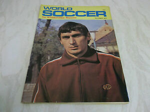 FOOTBALL-MAGAZINE-World-Soccer-octobre-1972-LEGIA-VARSOVIE-LATCHFORD-BIRMINGHAM