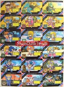 SAINT-SEIYA-Bandai-Japan-1991-Act-SD-Part-2-Complete-REGULAR-Card-Set-of-36