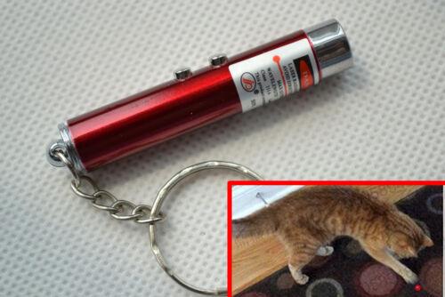 2in1 Red Laser Pointer Pen &+ White LED Light Childrens / Cat Toy
