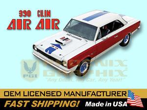 1969 Amc American Motors Hurst Sc Rambler A Scheme Decals