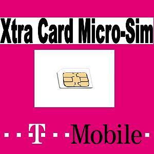 t mobile micro provider d1 prepaid xtra card sim karte aktiviert portofrei. Black Bedroom Furniture Sets. Home Design Ideas