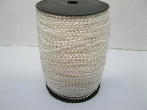 1Roll-X-65Yds-Pearl-Color-Ball-Beaded-Chain-for-Craft-4mm