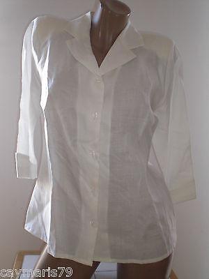 ARTICULO NUEVO bonita CHAQUETA LINO (ramio) Talla 42 ó 44 de mujer woman jacket