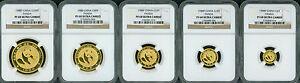 1988-P-5-COINS-PROOF-GOLD-SET-100Y-50Y-25Y-10Y-5Y-PANDA-NGC-PR68-PF68-CHINA