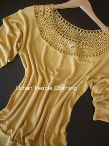 Mustard-Knit-Top-Small-Anthropologie-Earring-Free-Spirit-Urban-People-Clothing