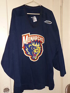 CAROLINA-MONARCHS-RARE-AHL-GAME-WORN-JERSEY-SIZE-56-DEFUNCT-TEAM