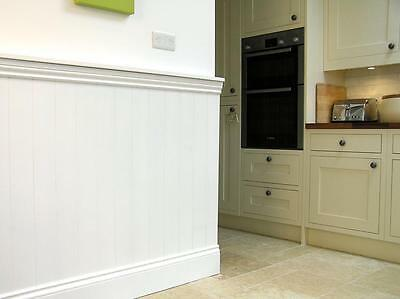 Wall Panels - Interior Tongue and Groove Effect Panels - all rooms
