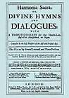 Harmonia Sacra or Divine Hymns and Dialogues, the First Book by Matthew Lock, John Blow, Henry Purcell (Paperback, 2008)