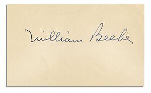William-Beebe-Signed-Signature-Naturalist-Explorer