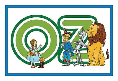 Denslow's Oz Characters  from The Wizard of Oz .. Counted Cross Stitch Pattern