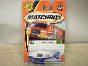 matchbox rescue helicopter with 350928577878 on A 51598423 additionally Old Ambulance moreover Matchbox New Models 2016 together with 320518151780 in addition 350928577878.
