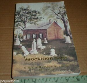 Roanoke-Valley-Virginia-VA-Baptist-Association-Church-150-Yr-History-1990-SIGNED