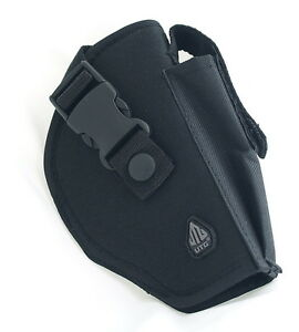 UTG-TACTICAL-BELT-HOLSTER-fits-most-Medium-Frame-Pistols-GLOCK-17-SIZE-BLACK-NEW