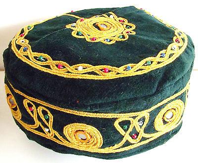 Smoking hat Thinking cap NEW Choice of size Green M L XL XXL Medium Extra Large