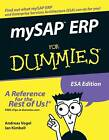 MySAP ERP For Dummies by Ian Kimbell, Andreas Vogel (Paperback, 2005)