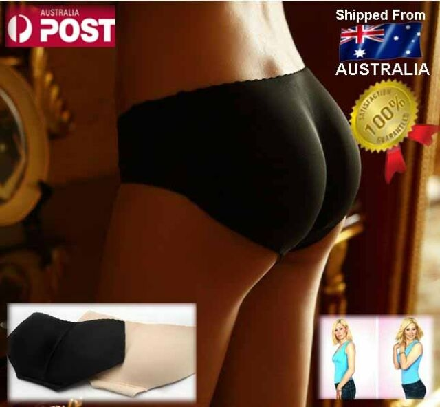 Sexy Curve Padded Bum Hip Enhancer Booty Booster Shaper Panty Briefs Pad Pant