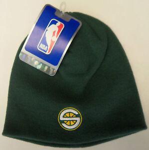 Nwt Nba Seattle Supersonics Adidas Youth Cuffless Knit Hat
