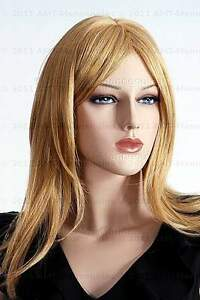 Blonde-full-wigs-straight-female-wig-on-Rose-and-Cam-W-13