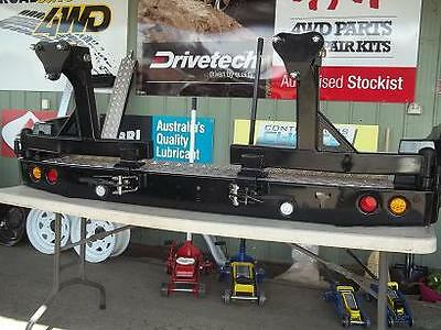 TOYOTA LAND CRUISER 60 SERIES  REAR BAR WITH DOUBLE WHEEL CARRIER