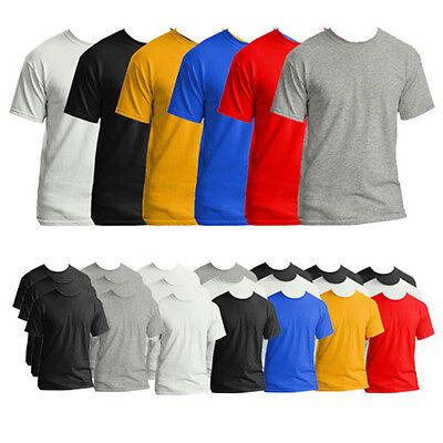 Gildan Men's 3 Pack Ringspun Cotton T-Shirts
