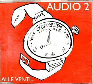 AUDIO-2-CD-single-1-traccia-PROMO-1995-ALLE-VENTI-made-in-Italy-PDU-MINA