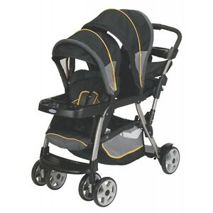 Graco-Ready2Grow-Lx-Duo-Stand-Ride-Baby-Stroller-Flare-Brand-New-1814578