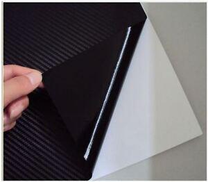 "Carbon Fiber 3D Wrap Vinyl Film Overlay Decal 3M 12""x12"" Sheet"