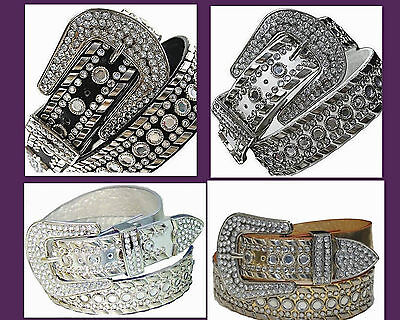 Western Rhinestone Rodeo Horse Belt Studed Cowgirl Bling Wholesale 50118