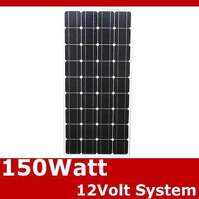 150Watts 150W Pannello Modulo Solare 12V Cella Da 12 Volt Mono-cristallino