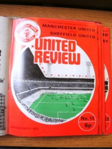 26121973 Manchester United v Sheffield United . Item In very good condition u