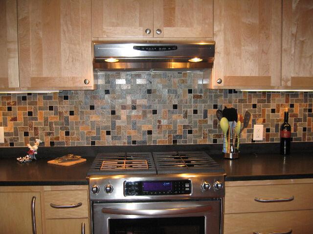 Travertine HERRINGBONE Slate Granite MOSAIC TILES Kitchen Backsplash FREE S+H!!!