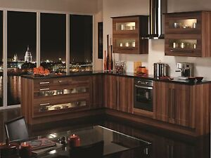 B Q Plum Style Shaker Replacement Kitchen Cupboards Doors
