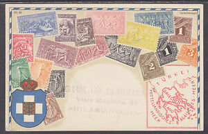 Zieher-87-used-PPC-Stamps-of-Greece-w-Italy-Sc-82-Franking-to-Germany