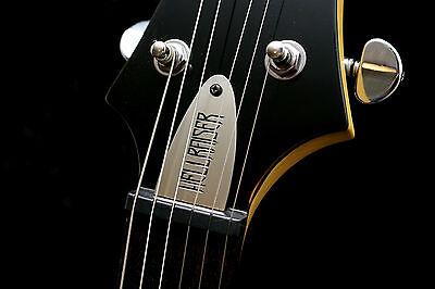 Hand Made Truss rod cover for Schecter Guitars - Hellraiser